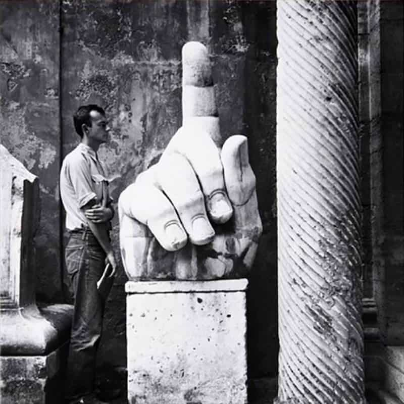 Robert Rauschenberg, 'Cy (Twombly) + Relics – Rome #5,' 1952