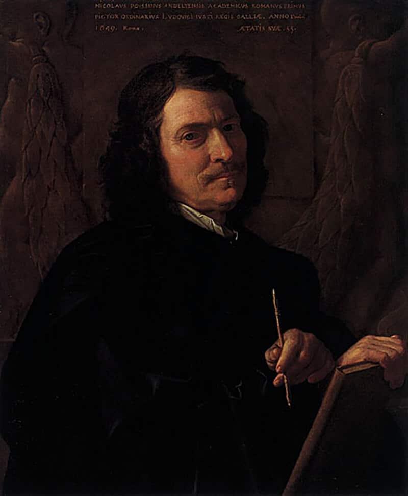 Nicolas Poussin, 'Self-Portrait,' 1649 (Gemaldegalerie Berlin)