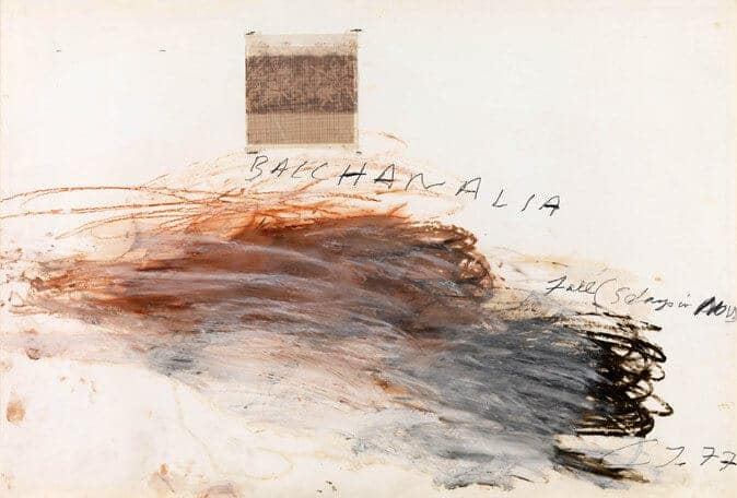 Cy Twombly, 'Bacchanalia-Fall (5 Days in November)' (Museum Brandhorst, München)