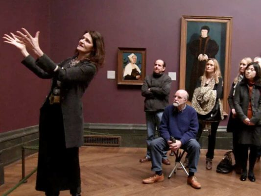 A still from Frederick Wiseman's film National Gallery (2014). Image: © Frederick Wiseman Courtesy Zipporah Films/Soda Pictures/Doc & Film