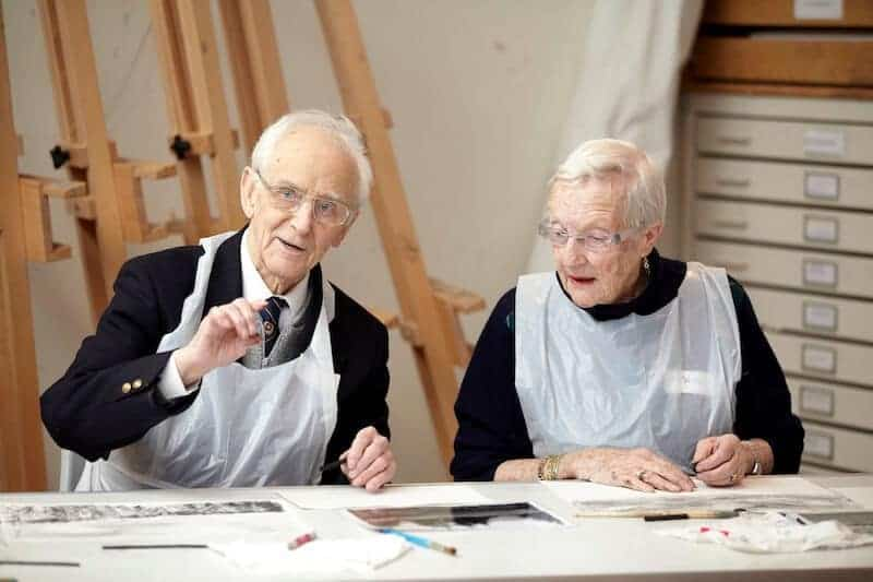 'Good Times: Art for Older People' is a Dulwich Picture Gallery programme, working with day centres, community centres and care homes. Photo: Dulwich Picture Gallery, London
