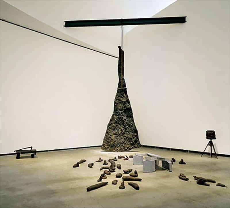 Beuys Lightning with Stag in its Glare