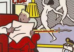 Roy Lichtenstein, 'Tintin Reading'